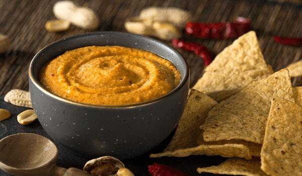 Salsa de cacahuetes