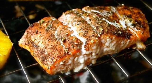 Salmon a la parrilla