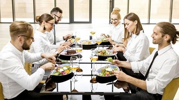 Beneficios del menú en la oficina