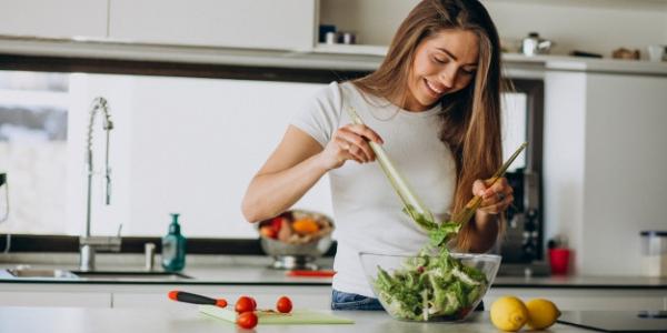 comida sin cocinar