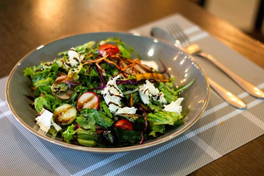 ensaladas verdes gourmet
