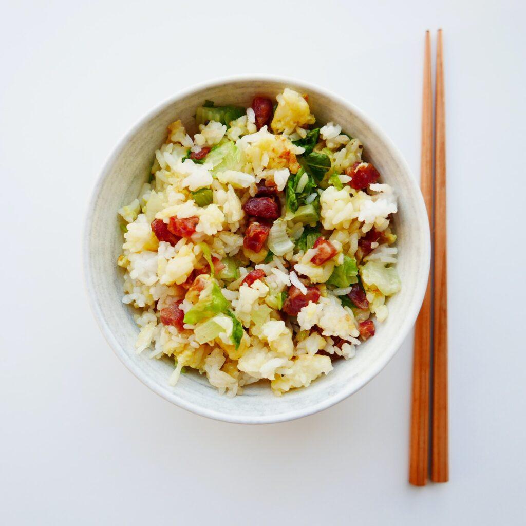 ensaladas gourmet de arroz